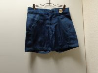 70'S summer camp DENIM SHORTS(デニムショーツ)DEAD STOCK(実寸W31)