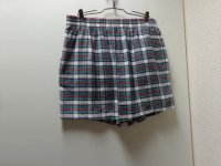80'S BROOKS BROTHERS CHECK PATTERNE COTTON EASY SHORTS(ブルックスブラザーズ チェック柄仕様コットンイージーショーツ)MADE IN USA(XL)