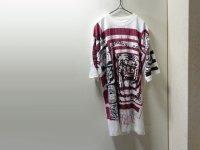 90'S MOREHOUSE UNIVERSITY MULTI PRINT T-SHIRTS(モアハウス大学 マルチプリント仕様Tシャツ)DEAD STOCK(XL)
