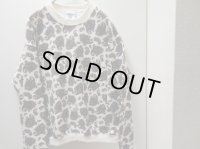 90'S Lee PAISLEY PRINT SWEAT(リー ペイズリー柄スウェット)MADE IN USA(L)