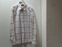 00'S A.P.C DESIGN CHECK L/S COTTON SHIRTS(アーペーセー デザインチェック柄コットン長袖シャツ)(2)