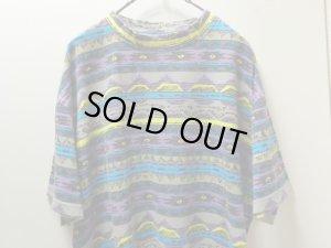 画像3: 80'S LIFE'S A BEACH REPEATING PATTERNE T-SHIRTS(ライフズアビーチ総柄Tシャツ)MADE IN USA(M)