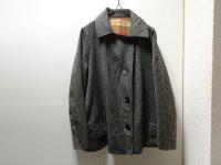 50'S WIDE STRIPE PATTERN WOOL JACKET (太ストライプ柄ウールジャケット)(S位)