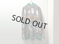 90'S POSITIVE FISTORY REPEATING PATTERNE SWEAT PARKA(ポジティブ ヒストリー 総柄スウェットパーカー)MADE IN USA