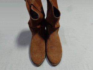 画像2: 80'S HONOHOS SUED PECOS BOOTS(スウェードペコスブーツ)(US9)