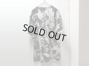 画像2: 90'S MARILYN MONROE REPEATING PATTERNE T-SHIRTS(マリリンモンロー 総柄Tシャツ)MADE IN USA(L)