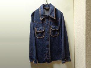 画像1: 70'S Sportswear L/S DENIM WESTERN SHIRTS(デニムウエスタンシャツ)(S位)