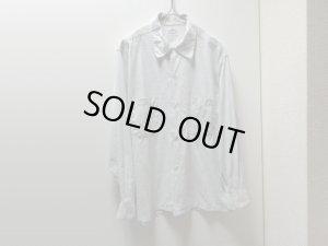 画像1: 50'S CAMPUS KASURI PATTERN COTTON BOX L/S SHIRTS(キャンパス カスリ柄コットンボックス型長袖シャツ)(15-15 1/2)