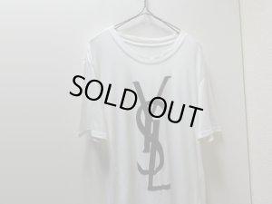 画像3: 00'S YVES SAINT LAURENT  FLOCKY LOGO T-SHIRTS (イヴサンローラン  フロッキーロゴ Tシャツ)(M位)