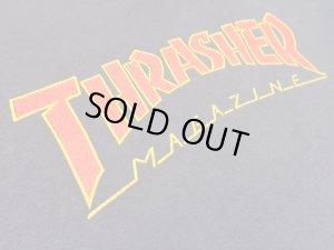 画像5: 90'S THRASHER MAGAZIN LOGO T-SHIRTS (スラッシャーマガジン ロゴ Tシャツ)MADE IN USA(M)
