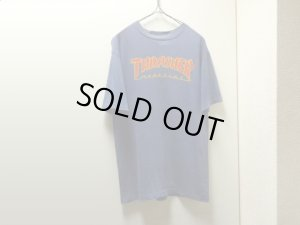 画像1: 90'S THRASHER MAGAZIN LOGO T-SHIRTS (スラッシャーマガジン ロゴ Tシャツ)MADE IN USA(M)