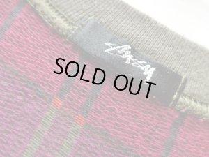 画像4: 80'S OLD STUSSY JACQUARD T-SHIRTS(オールドステューシー ジャガードTシャツ)横長仕様黒タグ(XL位)