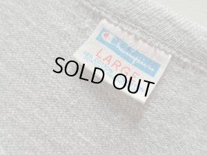 画像4: 70'S Champion WATER PRINT T-SHIRTS(チャンピオン バータグ 2段緑染込みプリント 灰杢Tシャツ )MADE IN USA(L)