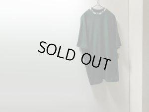 画像1: 80'S OLD STUSSY T-SHIRTS(USA製 オールドステューシー 首元織り柄 + 刺繍ストックロゴ仕様Tシャツ)DEAD STOCK(L)