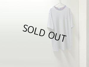 画像1: 90'S RALPH LAUREN WIDE BORDER PATTREN KANOKO T-SHIRTS(ラルフローレン 太ボーダー柄鹿の子Tシャツ)MADE IN USA(M)