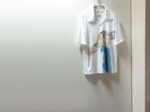 画像1: 70'S KENNINGTON S/S COTTON × POLYESTER POLO SHIRTS(ケニントン 半袖綿ポリ ポロシャツ)USA COMPONENTS(L)