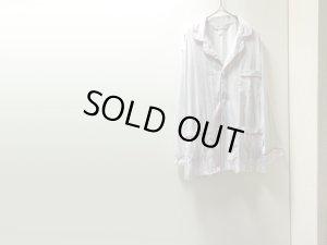 画像1: 80'S OLD Christian Dior MULTI STRIPE PATTERNE COTTON PAJAMA SHIRTS(オールド クリスチャンディオール マルチストライプ柄コットンパジャマシャツ)MADE IN USA(XL)