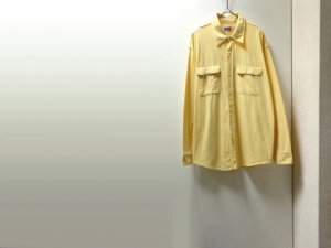 画像1: BIG MAC YELLOW CHAMBRAY L/S WORK SHIRTS(ビッグマック イエローシャンブレー素材 長袖ワークシャツ)