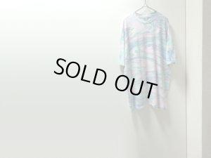 画像1: 90'S Hanes MARBLE PATTERNE T-SHIRTS(ヘインズ マーブル柄 Tシャツ)MADE IN USA(XL)