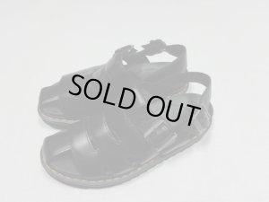 画像1: NEW Dr.Martens LEATHER SANDAL WITH RIPPLE SOLE(新品 ドクターマーチン リップルソール仕様 本革サンダル)(UK8)