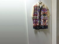90'S O'NEILL OPEN COLLAR S/S VISCOSE SHIRTS(オニール 半袖開襟ビスコースシャツ)(L位)