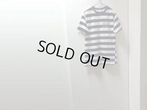 画像1: 80'S ALCATRAZ HEALTH CLUB WIDE BORDER PATTERN T-SHIRTS(アルカトラズ ヘルスクラブ 太ボーダー柄Tシャツ)MADE IN USA(L)