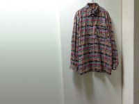 MISSONI REPEATING PATTERN L/S COTTON SHIRTS(ミッソーニ 総柄仕様 ボタンダウン長袖コットンシャツ)MADE IN ITALY(50)