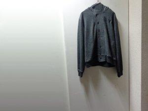 画像1: 11'S Y-3 YOHJI YAMAMOTO WOOL × POLYESTER KNIT JACKET WITH HOODED(2011年製 Y-3 ヨウジヤマモト フード付き ウール × ポリエステル混紡 ニットジャケット)(L)