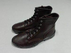 画像1: 90'S CALPIA LACE-UP LEATHER BOOTS(カルピア レースアップ 本革ブーツ)DEAD STOCK(US9-M)