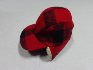 画像2: 90'S FILSON BLOCK CHECK PATTERN WOOL EAR FLAP CAP(USA製 フィルソン ブロックチェック柄 ウール イヤーフラップ キャップ)DEAD STOCK(M)