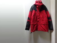 90'S THE NORTH FACE EXTREME LIGHT NYLON JACKET WITH HOODED(ノースフェイス エクストリームライト 中綿入り フード付き ナイロンジャケット)(M)