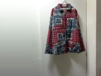 80'S Patch Magic REVERSIBLE QUILT PATCHWORK SHIRTS JACKET(パッチマジック リバーシブル仕様 パッチワーク キルト シャツジャケット)(XL位)