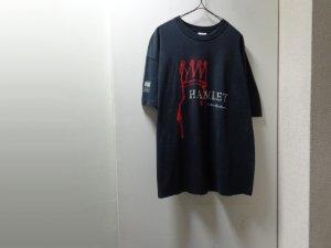 画像1: 90'S SHAKESPEARE HAMLET T-SHIRTS(シェークスピア ハムレット Tシャツ)MADE IN IRELAND(XL)