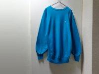 90'S Champion REVERSE WEAVE CREW-NECK SWEAT (チャンピオン リバースウィーブ ロゴ刺繍入り クルーネック仕様 スウェット)MADE IN USA(XL)